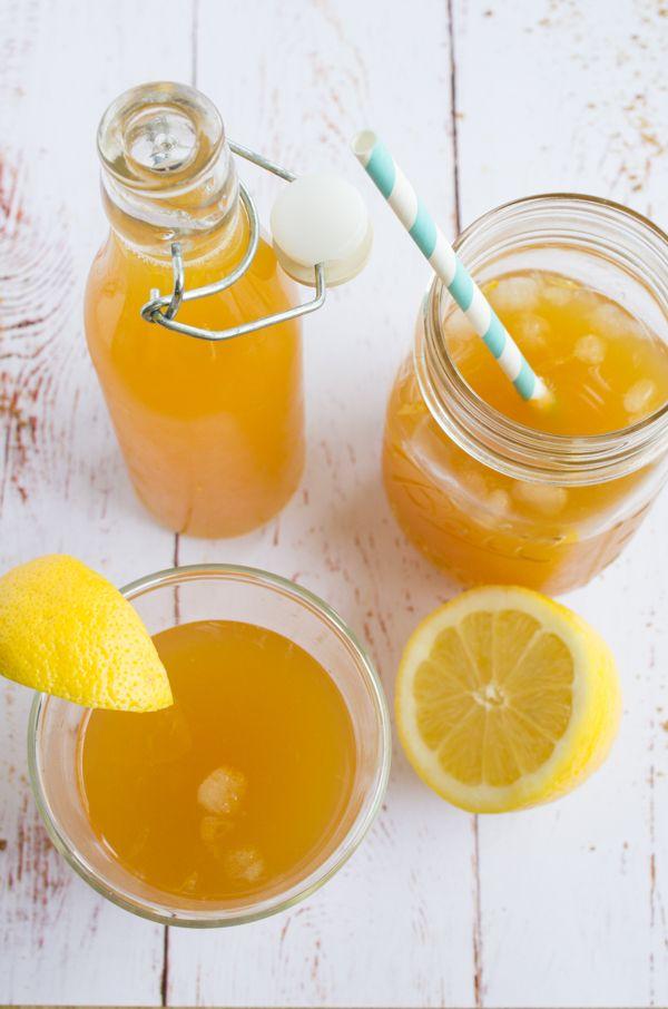 Limonade au citron et fleur d'oranger boisson rafraichissante pour l'été recette sur www.lagodiche.fr