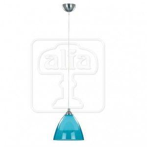 Lampa wisząca Edo szklana niebieska