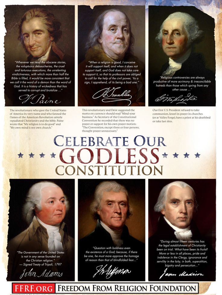 the founding fathers views about the government In honor of our presidents and our nation's founding, here are 35 quotes from the founding fathers that prove they did not found a 'christian' nation.