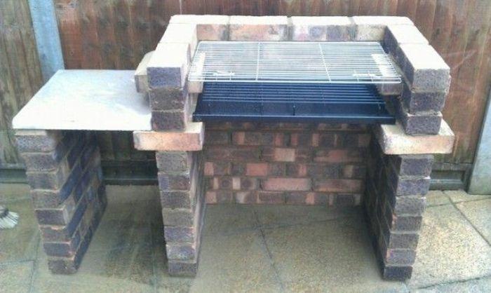 Grill selber bauen aus Ziegelstein: Gestalten Sie einen Grillplatz im Garten!