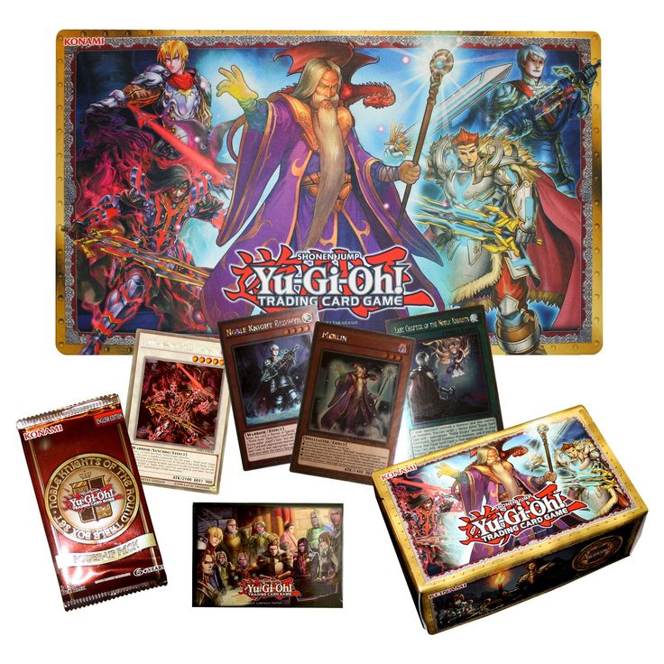 Yu-Gi-Oh! Noble Knights of the Round Table Trading Card Game Box Set