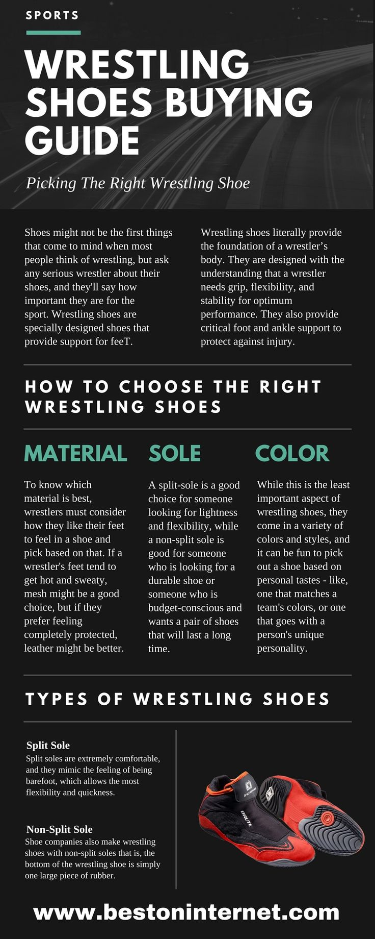 How to choose #wrestlingshoes http://www.bestoninternet.com/sports-and-fitness/athletic/wrestling-shoes-on-market/