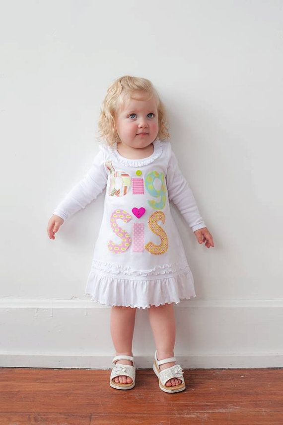 Hey, I found this really awesome Etsy listing at https://www.etsy.com/listing/155658195/long-sleeve-big-sis-tunic-big-sister-big