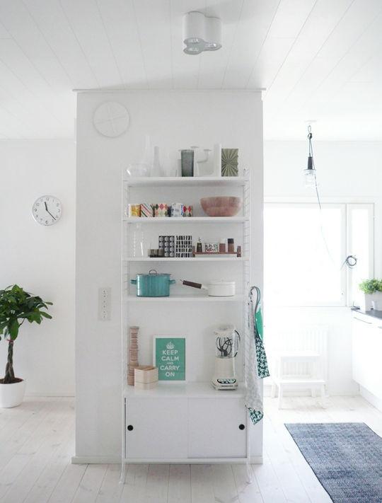 String shelf for the kitchen