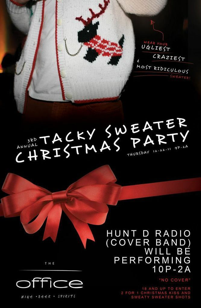 The Office Christmas Party Flyer. | Print | Pinterest | Office ...