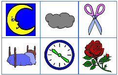 Beginklank bingo » Juf Sanne