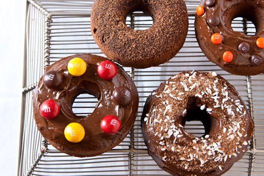 triple chocolatedonuts #chocolate #donut: Baking Donuts, Chocolates Donuts Wow, Triple Chocolates Donuts, Gluten Free Donuts, Chocolates Gluten, Chocolate Donuts, Donuts Cakes, Triple Chocolatedonut, Donuts Recipes