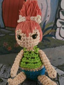 ¿Os acordáis de Pebbles Picapiedra? La hija de Pedro y Wilma de la serie Los Picapiedra que siempre me ha parecido tan super rebonica: ...