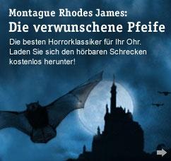 """Neuer Gratis-Download aus der Gruselgruft  Montague Rhodes James """"Die verwunschene Pfeife""""  #gratis #Download #MP3"""