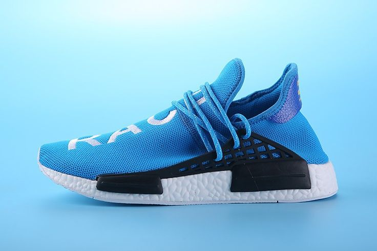 deb41fd050cb ... pharrell williams x adidas nmd human racebule white s79169 mens  sizeeur39 45 uk5.5 10