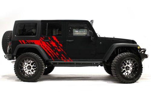 Vinyl Stickers Jeep Wave-Bed Graphics-Vehicle Decals Jeep Graphics Graphics