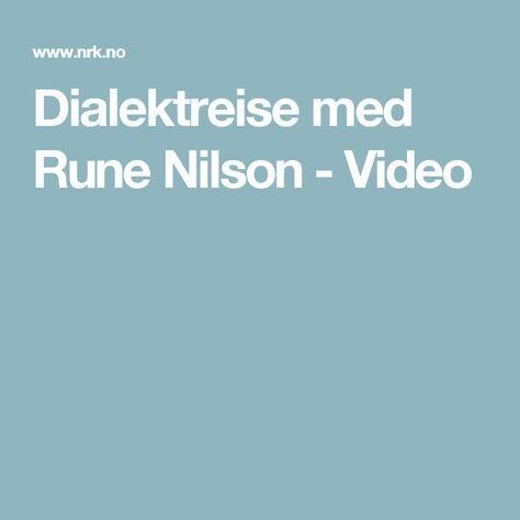Dialektreise med Rune Nilson - Video