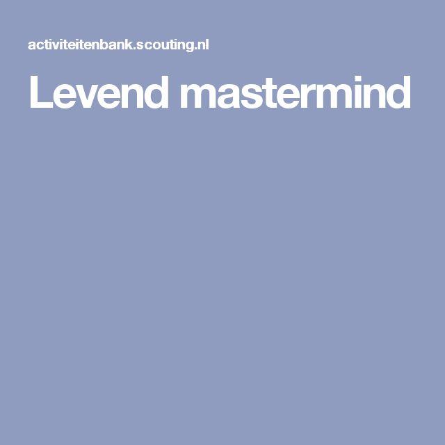 Levend mastermind