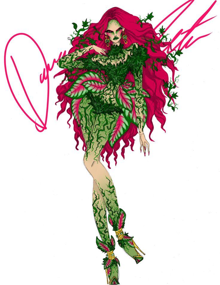 Batman, Poison Ivy by Daren J