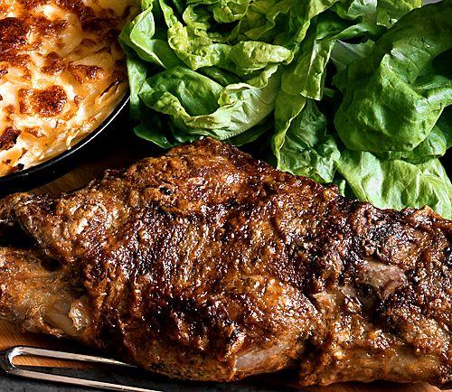 Lammstek med fransk potatiskaka | Recept från Köket.se