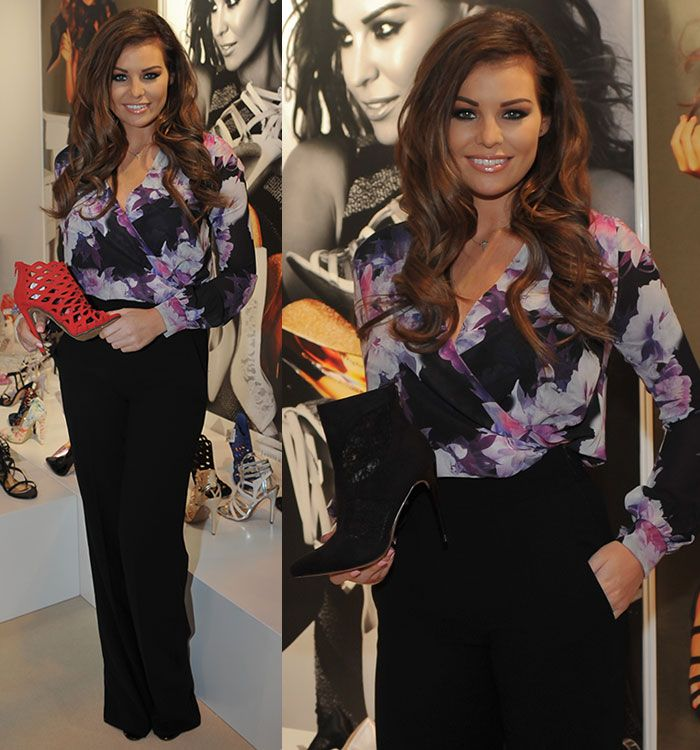 Jessica Wright Showcases Eponymous Shoe Collection at Moda 2015 Fashion Trade Exhibition