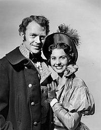 Dan O'Herlihy Peggy Creel Schlitz Playhouse of Stars 1955.JPG