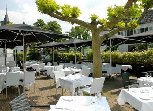 Paul Fagel, Restaurant Het Arsenaal, Terras, Vesting, Naarden.