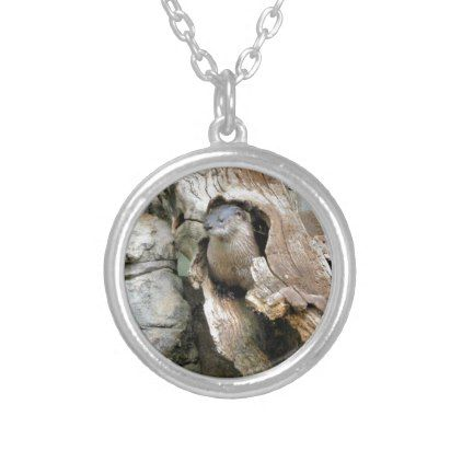 Harry Otter Silver Plated Necklace - jewelry jewellery unique special diy gift present