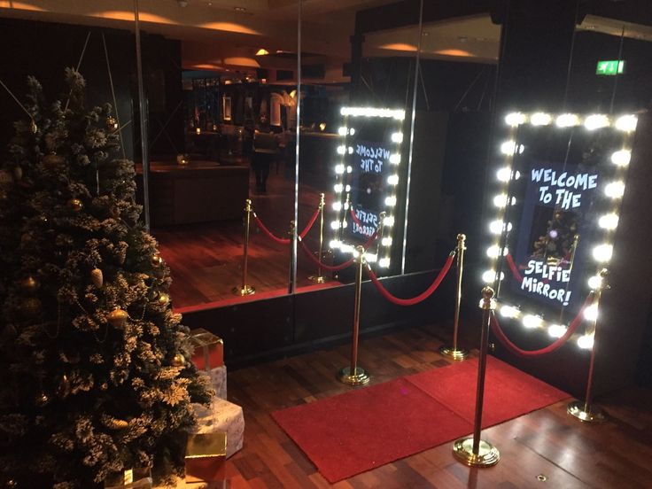 Merry Christmas with the Selfie Mirror Message us on Facebook to hire........ https://m.facebook.com/mirrormirrorselfiebooth/