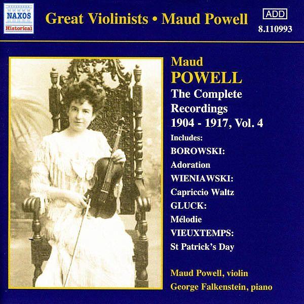 POWELL, Maud: Complete Recordings, Vol. 4 (1904-1917)-Maud Powell-Naxos