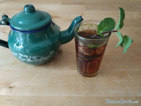 Té moruno #Bebidas #Recetasfáciles #BebidasRefrescantes #BebidasSaludables #BebidasNaturales #Tea #Te #Menta
