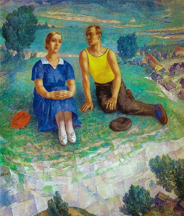 Петров-Водкин «Весна» (1935)