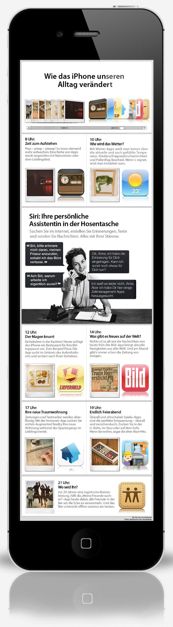 Wie das iPhone unseren Alltag verändert: http://www.immonet.de/service/infografik-iphone4s.html #immonet hat die Tipps