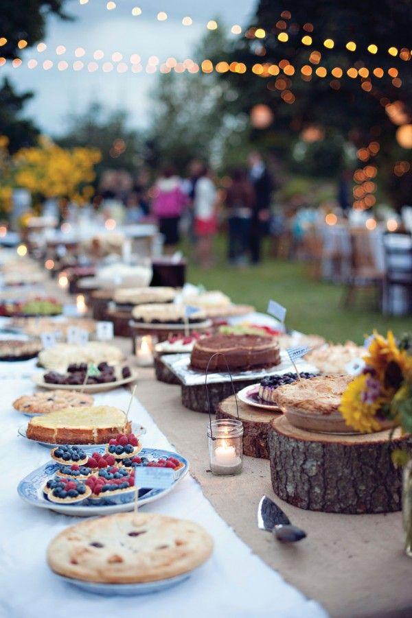 Best rustic dessert tables ideas on pinterest