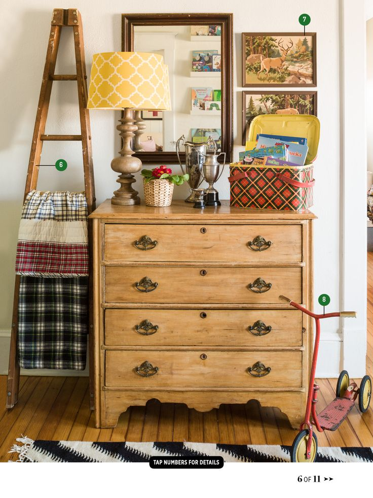 Country Living Shows Eclectic Thrifted Decor Thrift