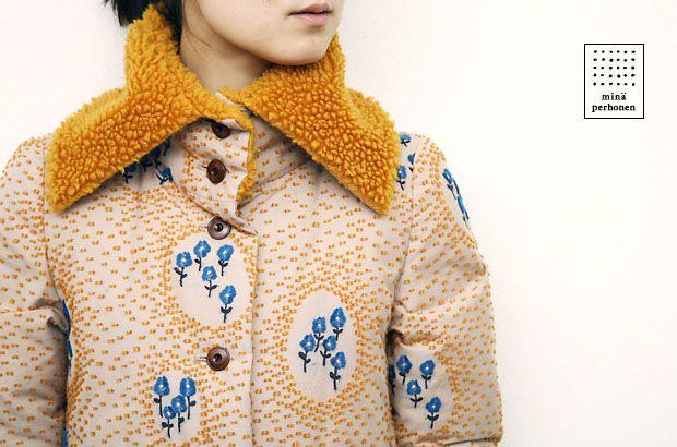 A Mina Perhonen coat. Photo by Norio Kidera