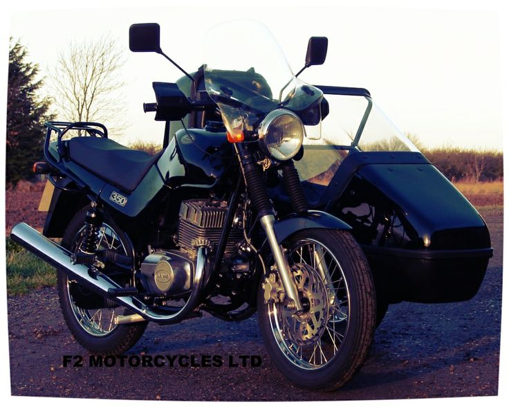 Jawa Classic and Sidecar from F2 Motorcycles Ltd