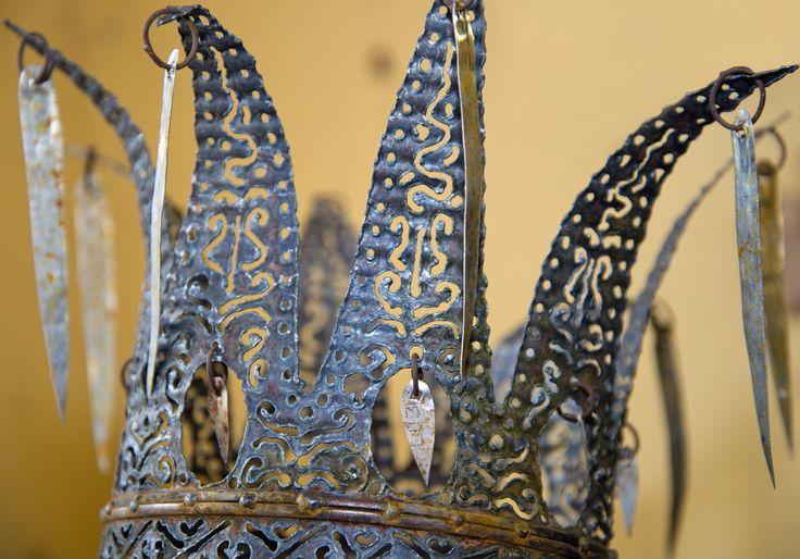 Jiga design. Bruksföremål,  konstföremål och installationer för hem och trädgård skapade av metall.