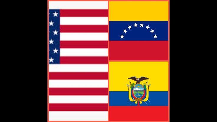 SITUACIÓN ACTUAL DE VENEZUELA, ECUADOR Y ESTADOS UNIDOS