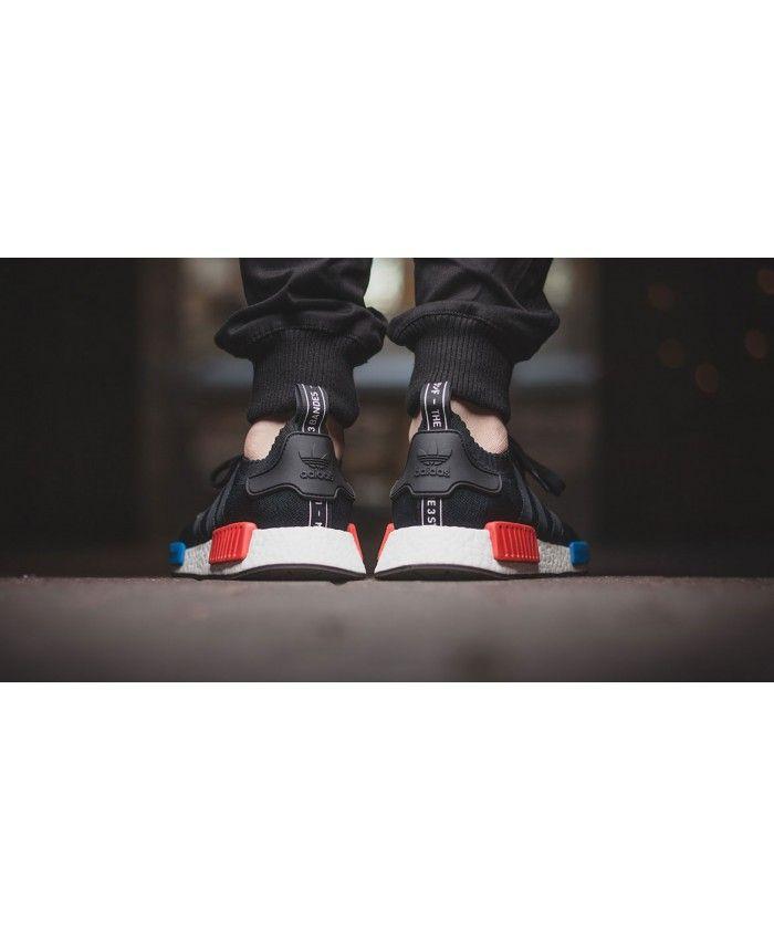 87af37153 Adidas NMD R1 Primeknit OG Black Sneakers Clearance Sale
