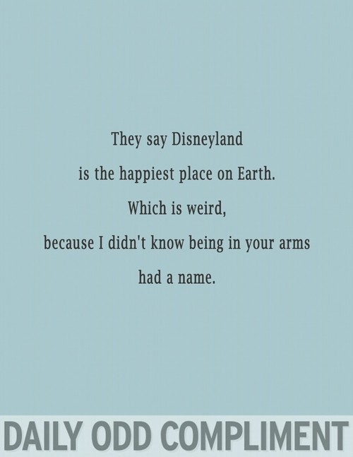 His arms are the best...must be what Disneys like!!