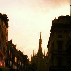 21. Calm #octoberphotoaday #Milan #sunset