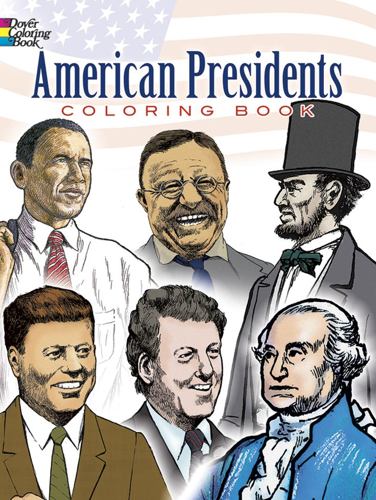 all 44 presidents coloring pages - photo#44