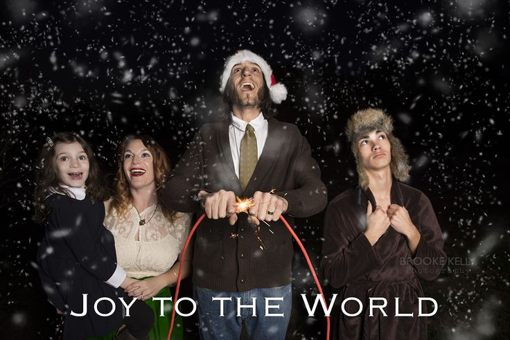 My family's Griswold christmas card, funny Christmas card, Christmas Vacation, Christmas card photo, Christmas vacation {Brooke Kelly Photography}