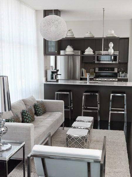 Kleine Wohnzimmer Zuhause Living Room Decor Modern Apartment