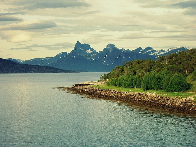 Landscape - Near Narvik, Norway by tixie21, via Flickr