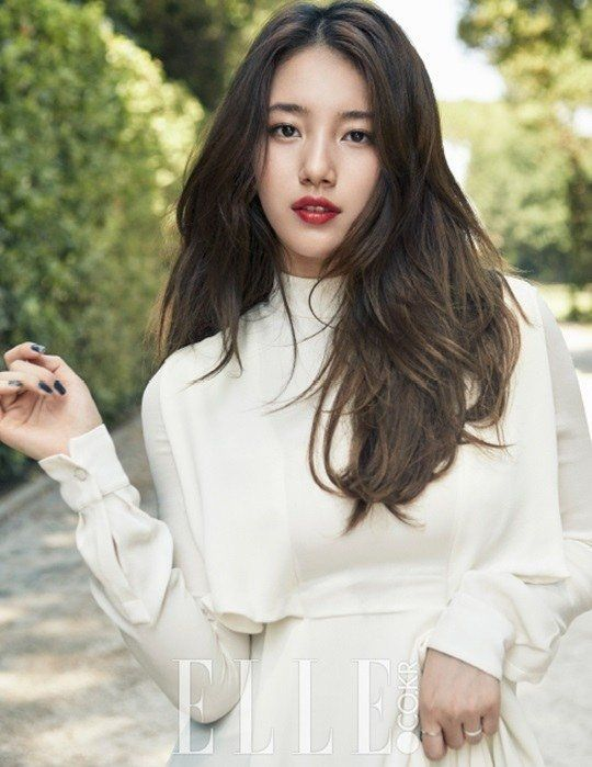 "Suzy Bae is totally bae! She is chic and gorgeous for ""Elle"" Magazine"