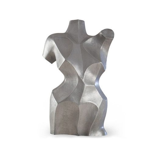 One of a series of stunning aluminium sculptures made in our workshops, inspired by the masters of Abstract and Cubism art. Three additional variations available (46-0467/46-0468/46-0469). (Shown in A