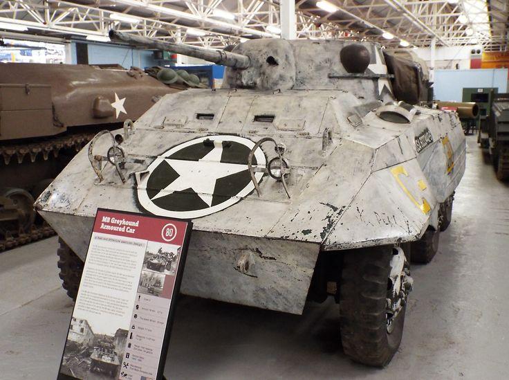US M8 Greyhound Armoured Car 1943-80 Tank Museum Bovington