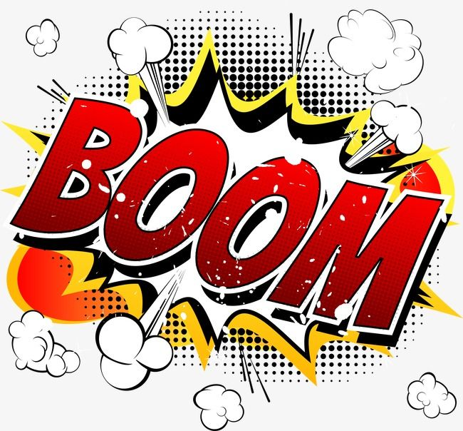 Boom Comic Explosion Vector Vector Cartoon Explosion Png Transparent Clipart Image And Psd File For Free Download Comic Books Illustration Balloon Illustration Book Illustration