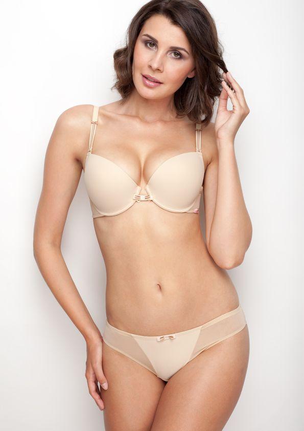 Samanta lingerie - New collection Heka beige bra: A476 pants: M200 www.samanta.eu