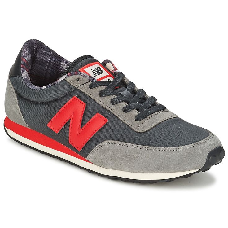 new balance m850 - baskets basses - black red