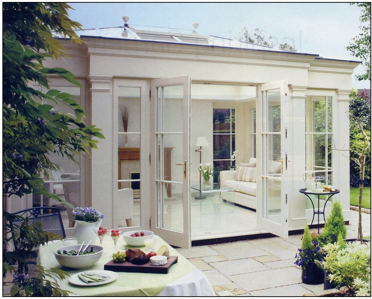 Another beautiful orangery #conservatories #garden_rooms
