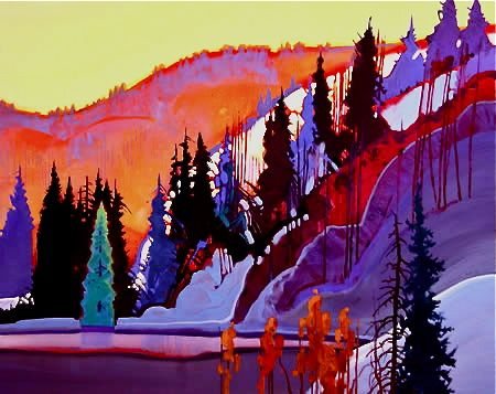 Stephen Quiller He does the BEST colors
