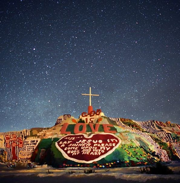 Salvation Mountain. Going here before I die.